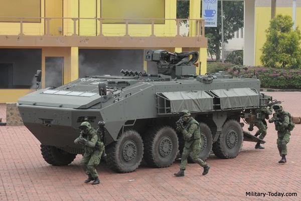 Giữ 9 xe bọc thép Singapore, TQ thu thập bí mật quân sự? - 2