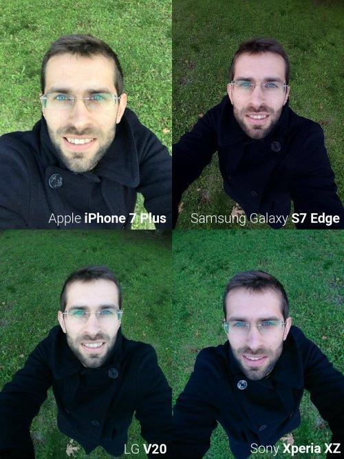 """Đọ camera selfie giữa """"bộ tứ"""" smartphone siêu đẳng - 1"""