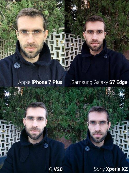 """Đọ camera selfie giữa """"bộ tứ"""" smartphone siêu đẳng - 2"""