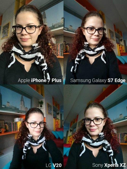 """Đọ camera selfie giữa """"bộ tứ"""" smartphone siêu đẳng - 5"""