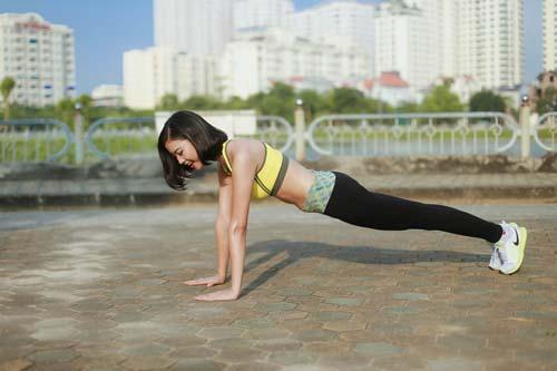 Người đẹp Đào Thị Hà luyện dáng sexy mà chẳng cần gym - 6