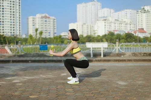 Người đẹp Đào Thị Hà luyện dáng sexy mà chẳng cần gym - 11