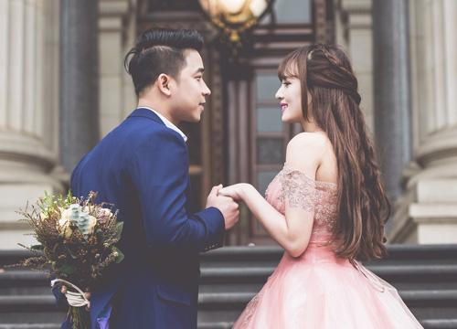 Vợ chồng Lê Hoàng (The Men) chụp ảnh cưới lãng mạn tại trời Tây - 4