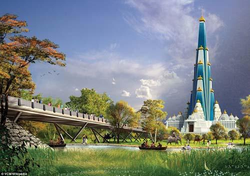 Ấn Độ xây đền cao nhất thế giới, có bãi đỗ trực thăng - 2