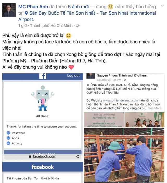 Bất ngờ phản ứng của Phan Anh khi được mở Facebook - 2