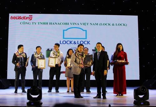 Lock&Lock nhận giải thưởng Top 10 sản phẩm, dịch vụ tin & dùng năm 2016 - 1
