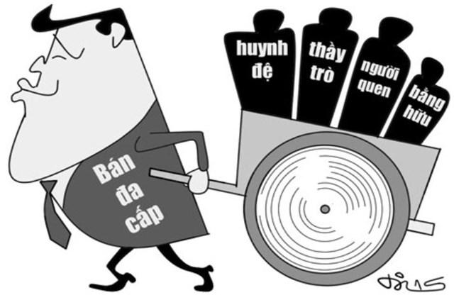 """Hà Nội: Loạt doanh nghiệp đa cấp bị rút phép """"lặn mất tăm"""" - 1"""