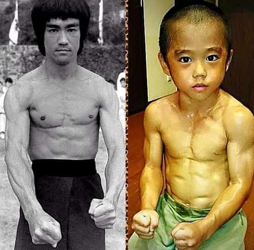 Truyền nhân Lý Tiểu Long: 6 tuổi bụng 6 múi - 2