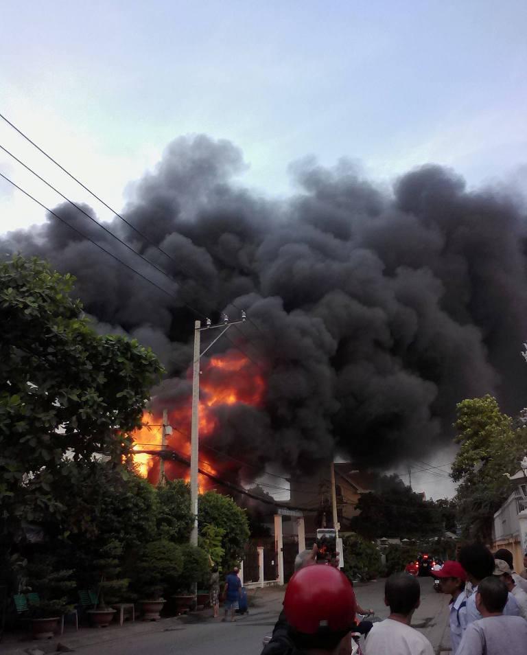 Vụ cháy 2 người chết ở SG: Một nạn nhân bị phỏng không nói được - 2