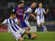 """Bóng đá - Barca kiểm soát bóng tệ: Tiki-taka bị """"dập"""" tơi bời"""