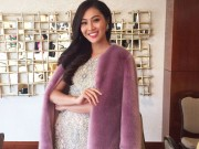Thời trang - Diệu Ngọc tự tin giao lưu bằng tiếng anh tại Miss World