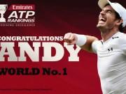 Tennis: Số 1 Andy Murray – biểu tượng của khổ luyện