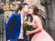 Vợ chồng Lê Hoàng (The Men) chụp ảnh cưới lãng mạn tại trời Tây