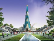 Ấn Độ xây đền cao nhất thế giới, có bãi đỗ trực thăng