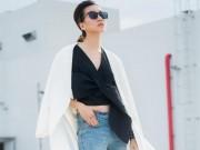 Thời trang - Chân dài Phan Linh xuống phố khoe dáng nuột, eo thon