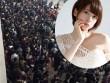 """Đời sống Showbiz - Hàng nghìn đàn ông xếp hàng 4km để ngắm """"nữ thần"""" Nhật"""