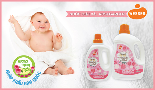Hương thơm giặt xả mới Rosegarden của Wesser chính thức có mặt trên thị trường - 1