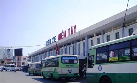 Di dời bến xe miền Tây về Phú Mỹ Hưng - 1