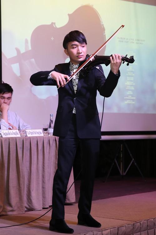 NSƯT Linh Nga tái xuất vì trai trẻ chơi violin - 4