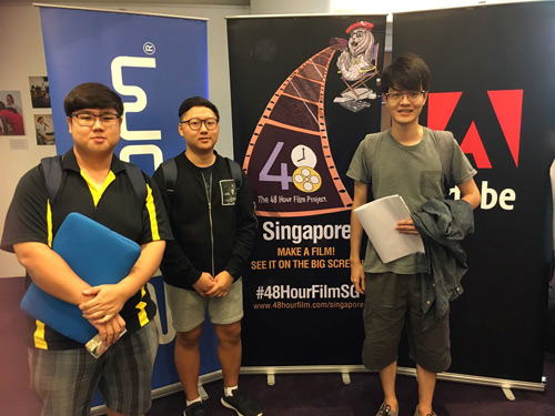 Sinh viên VN tại Học viện MDIS tham gia cuộc thi làm phim dành cho sinh viên - 1