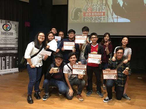 Sinh viên VN tại Học viện MDIS tham gia cuộc thi làm phim dành cho sinh viên - 2