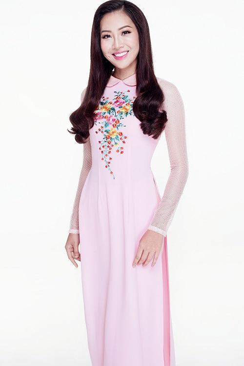 Diệu Ngọc diện áo yếm gợi cảm, bay bổng thi Miss World - 8