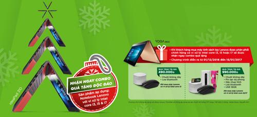 Giáng sinh lung linh với combo quà tặng độc đáo từ Lenovo - 3