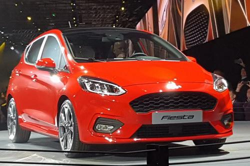 Ford Fiesta 2017 hoàn toàn mới ra mắt - 4
