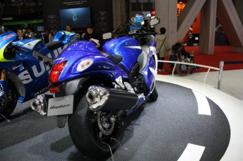 Chính thức xác nhận Suzuki Hayabusa thế hệ mới - 2