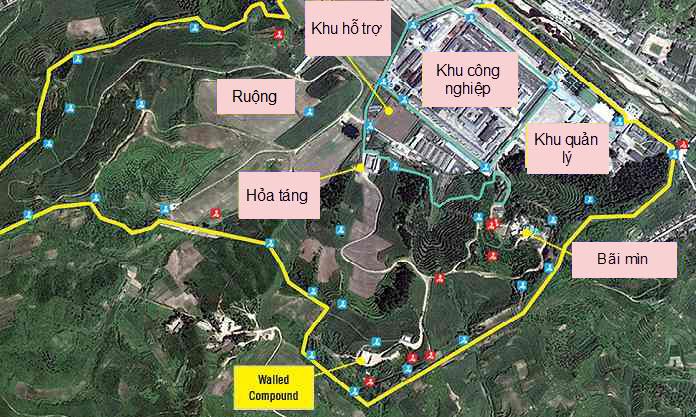 Vệ tinh phát hiện hệ thống nhà tù chính trị ở Triều Tiên - 1