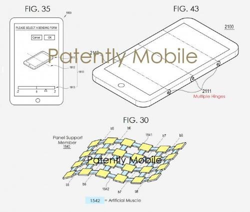 Samsung đã được cấp bằng sáng chế màn hình uốn cong mới - 1