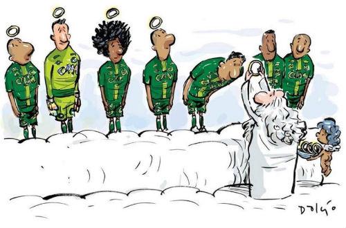"""Máy bay chở đội bóng Brazil rơi: """"Bi kịch MU"""" thời hiện đại - 2"""