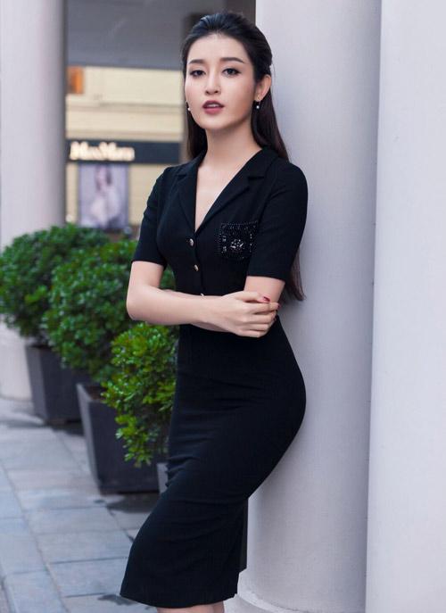 Á hậu Huyền My sang chảnh dạo phố - 9
