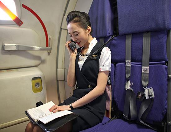 """Ngắm nữ tiếp viên hàng không TQ """"xinh đẹp nhất thế giới"""" - 3"""