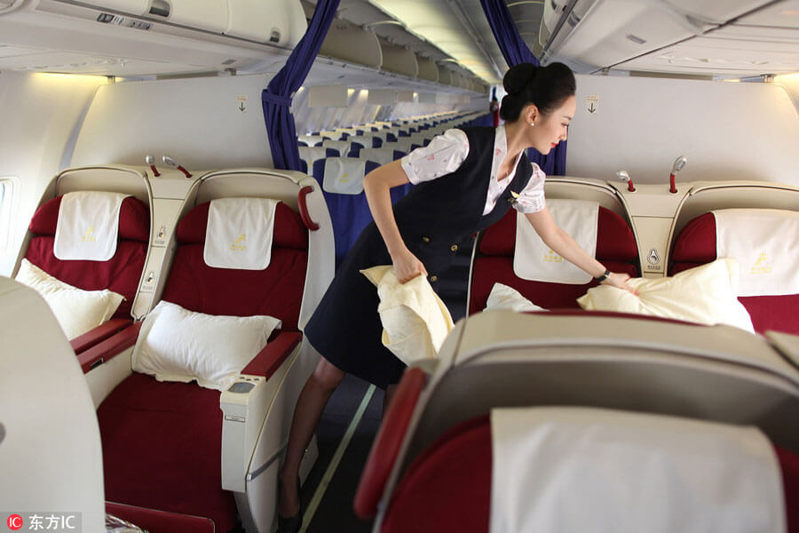 """Ngắm nữ tiếp viên hàng không TQ """"xinh đẹp nhất thế giới"""" - 6"""