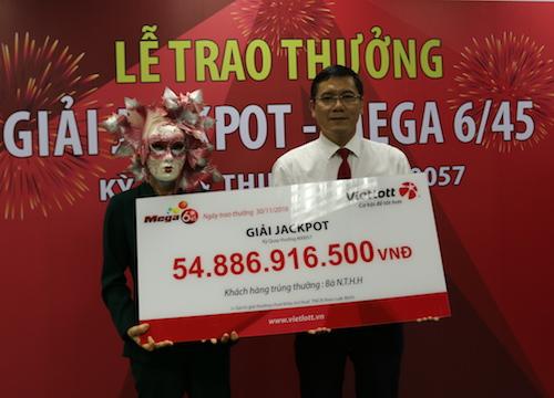 Bí mật trao giải xổ số 55 tỉ cho một phụ nữ ở Vĩnh Long - 1