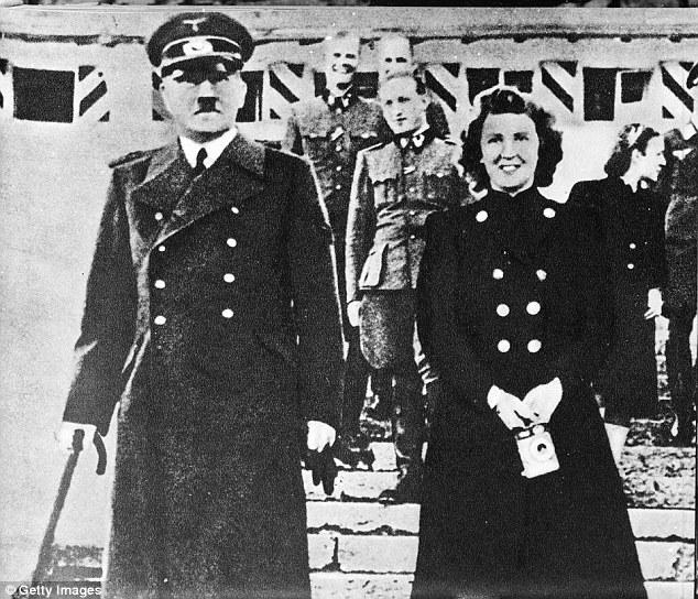 Lộ ảnh hiếm phụ nữ khỏa thân nghi là vợ của Hitler - 3