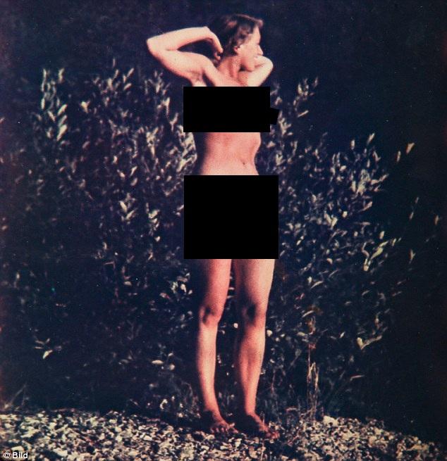 Lộ ảnh hiếm phụ nữ khỏa thân nghi là vợ của Hitler - 1