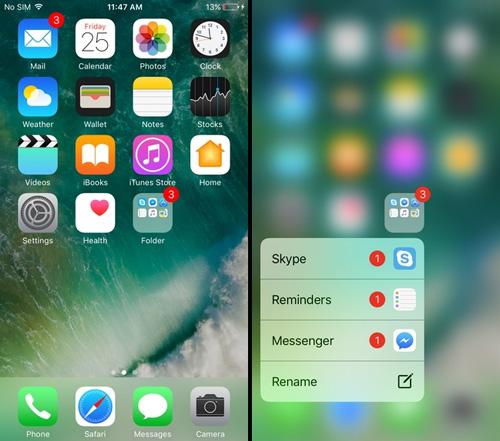 7 tính năng ẩn của 3D Touch trên iPhone bạn không biết - 3