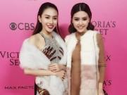 Ngọc Duyên - Lê Hà mặc sành điệu, đột nhập hậu trường Victoria's Secret
