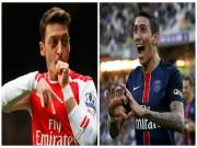 """Chán Arsenal, Ozil  """" rủ """"  Di Maria trở lại Real"""