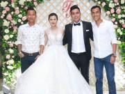 Bạn trẻ - Cuộc sống - Sao bóng đá tấp nập dự tiệc cưới DJ bốc lửa và cựu tiền đạo Việt Thắng