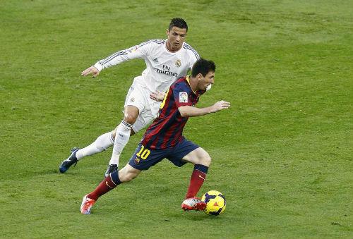 Siêu kinh điển Barca – Real: Messi, Ronaldo phân định QBV - 2