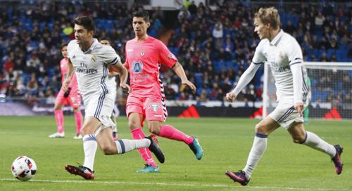 Real Madrid - Leonesa: Đại tiệc & con trai Zidane - 1