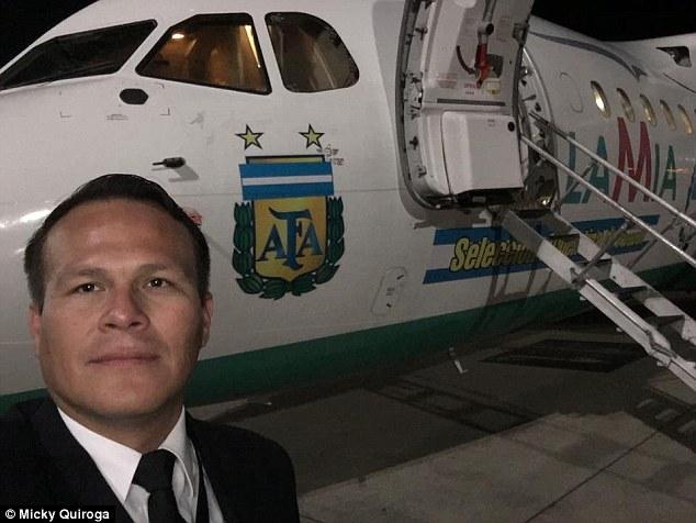 Lời tuyệt mệnh của cơ trưởng máy bay chở đội bóng Brazil - 3