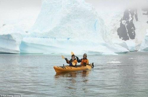 Cặp đôi đến Nam Cực làm đám cưới cùng chim cánh cụt - 6