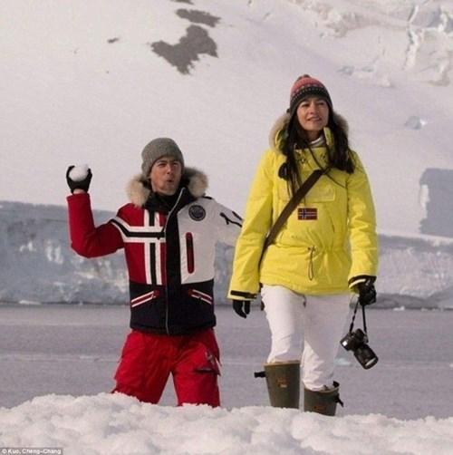 Cặp đôi đến Nam Cực làm đám cưới cùng chim cánh cụt - 7