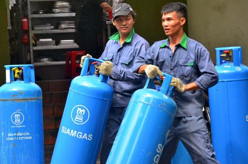 Giá gas giảm ít do tỉ giá tăng - 1