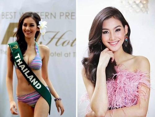 """2 hoa hậu Thái Lan khiến màn ảnh xứ chùa vàng """"phát sốt"""" - 1"""