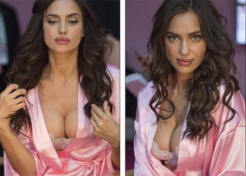 Irina Shayk mang bầu vẫn siêu gợi cảm diễn nội y? - 8